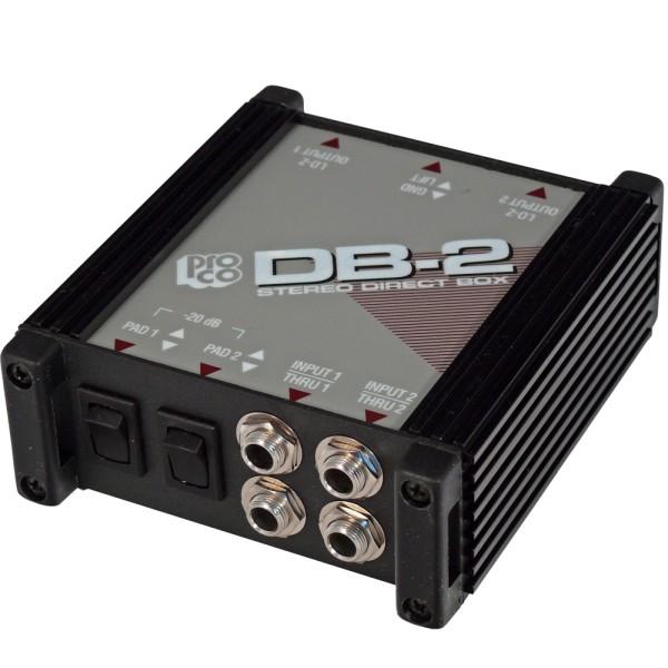 DB-2 Stereo DI-Box