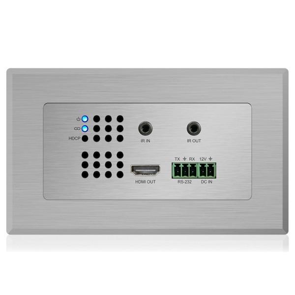 HEX11WP-RX HDBT Wallplate Empfänger