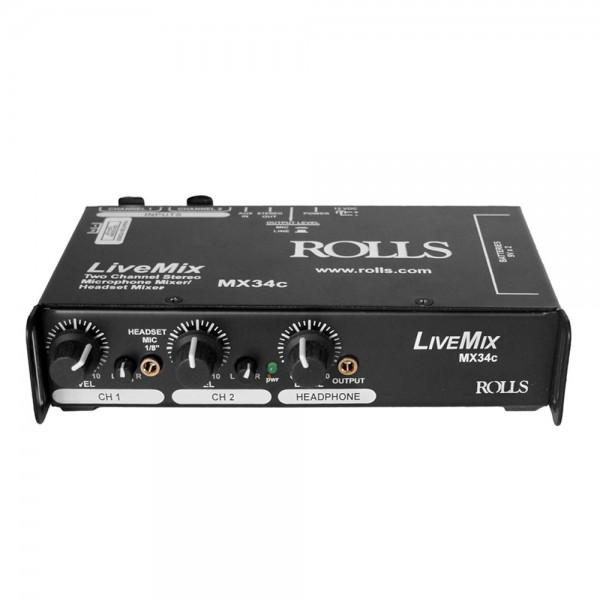 MX34c 2-Kanal Mini-Mixer