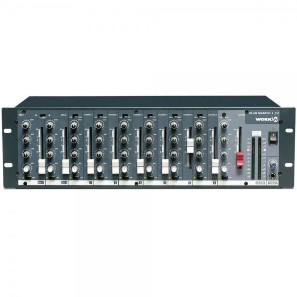 Club Master 1PH Audio Stereo-Rack-Mixer