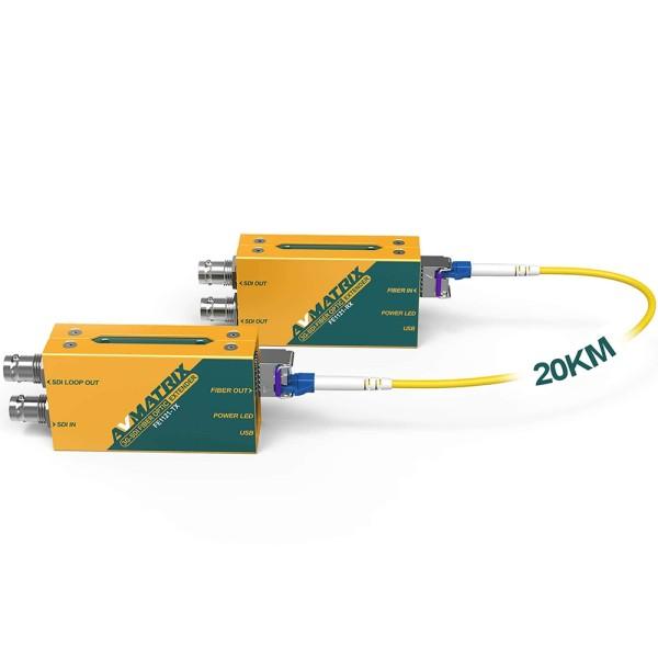 FE1121 3G-SDI Fiber Extender-Kit