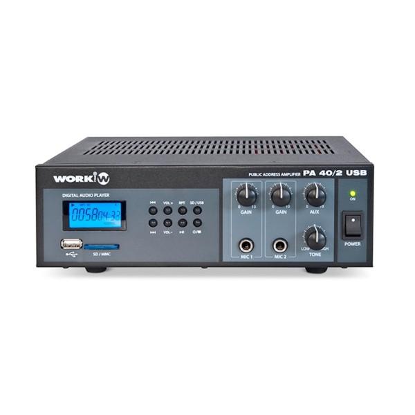 PA 40/2 USB Mischverstärker