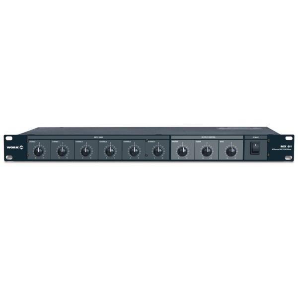 MX61 Mic-/Line-Mixer
