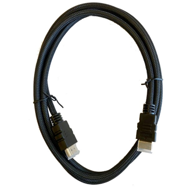 HDMI Kabel (4K @ 60Hz) mit Nylonmantel 28AWG + 30AWG