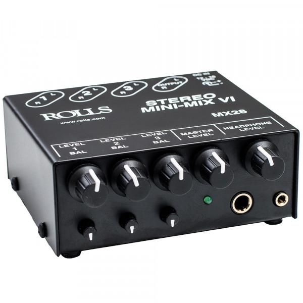 MX28 3-Kanal Mini-Mixer