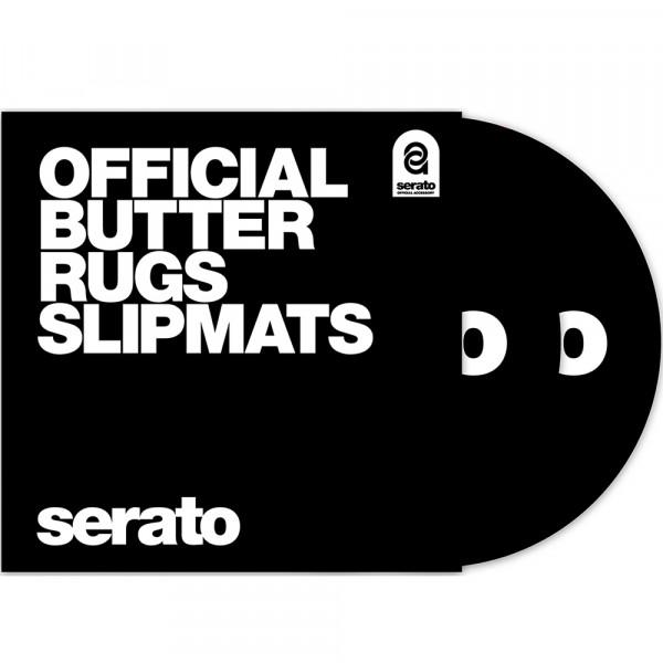 """12"""" Butter Rugs Slipmats schwarz"""