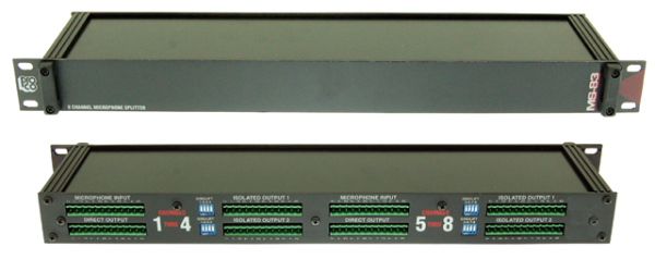 MS-83 8-Kanal Mic-Splitter