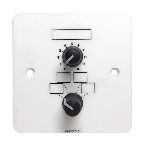 WR-1.5 Lautstärke Regler und 4 Positionen-Preset Umschalter