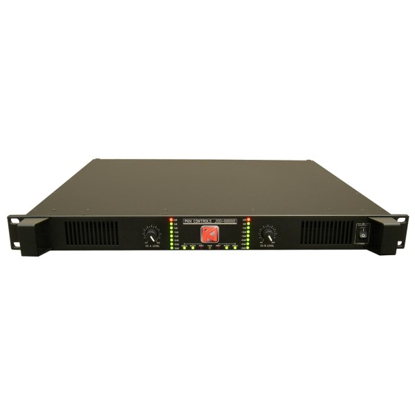 XD 2500 2-Kanal Hochleistungsverstärker, 1HE