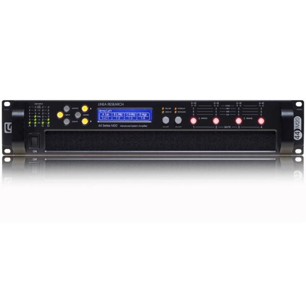 44 series M6 4-Kanal DSP Hochleistungsverstärker mit Dante