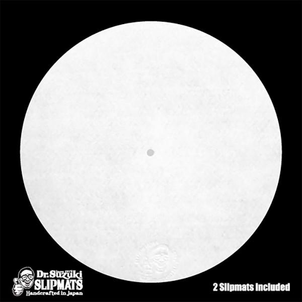 """12"""" Slipmats Mix-Edition weiß"""