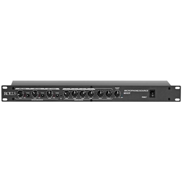 RM67 Mic-/Line Rackmixer