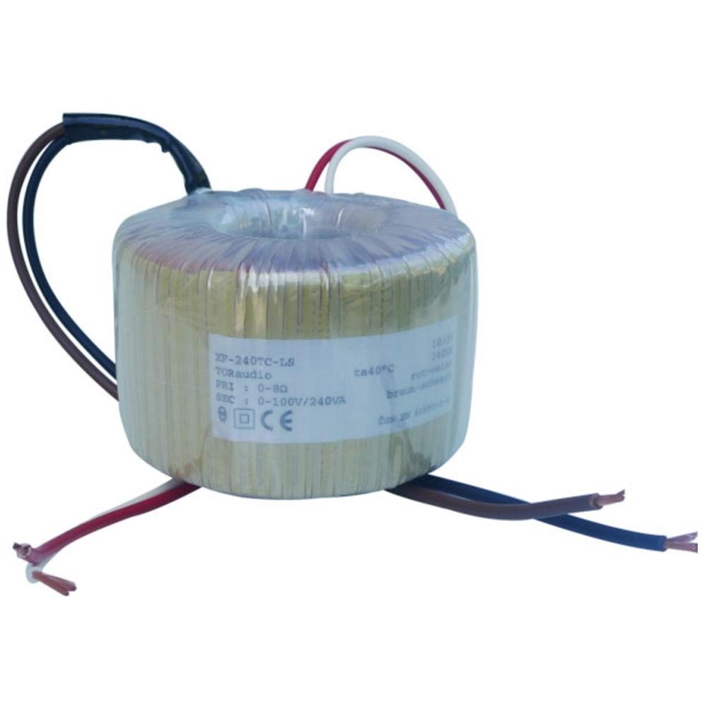 Lautsprecher-Ringkernübertrager 100V - 8Ohm