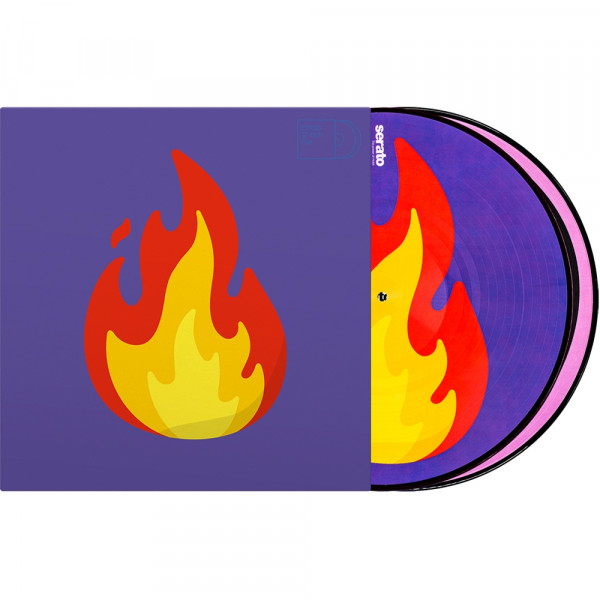 "2x12"" Emoji Picture Vinyl Pressung ""Flame/Record"""