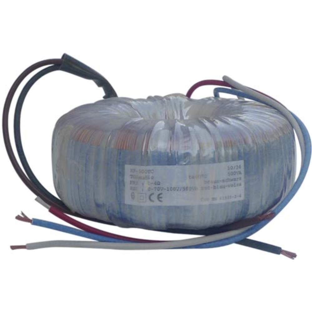 4 Ohm - 70/100V Audio-Ringkernübertrager