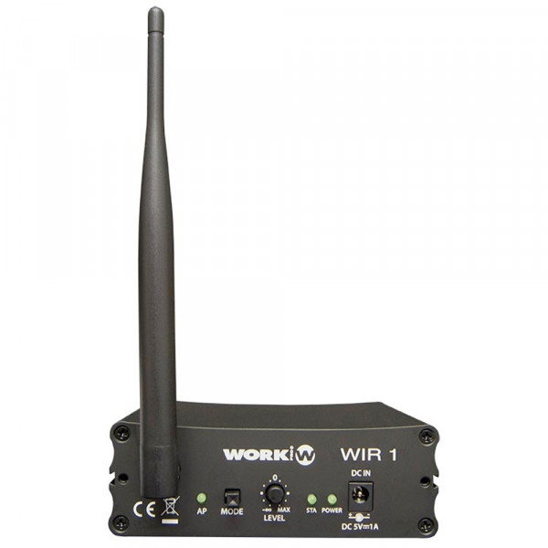 WIR1 Wireless Streaming Audio Empfänger
