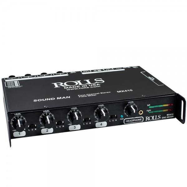 MX410 4-Kanal Mikrofon-Mixer