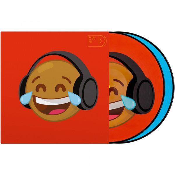 "2x12"" Emoji Picture Vinyl Pressung ""Thinking/Crying"""