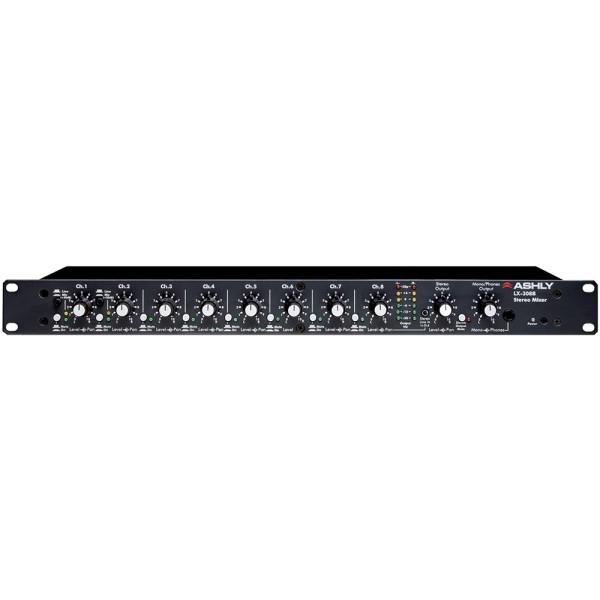 LX-308B 8-Kanal Stereo-/16-Kanal Mono-Rackmixer