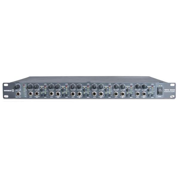 WPA6600 6-Kanal Kopfhörerverstärker