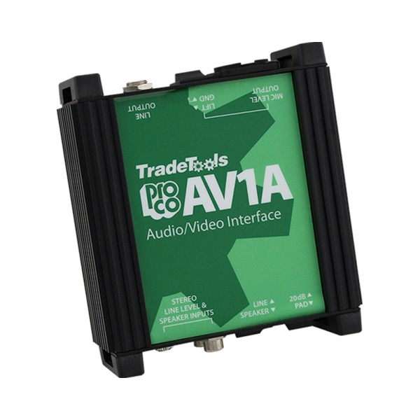 AV-1A Audio/Video Interface