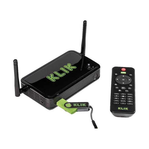 Boks Plus Wireless Presentation Connector mit Integriertem USB und Netzwerk Medienplayer